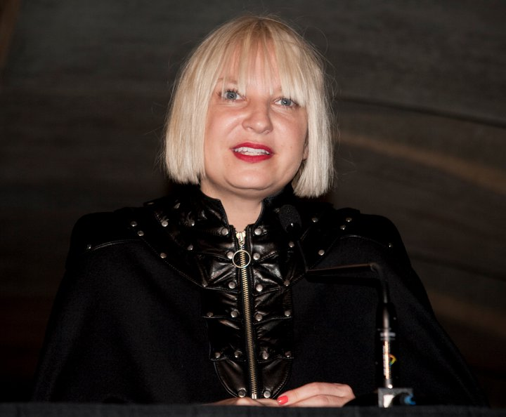 Sia Furler. Photography by Lara Antonelli.