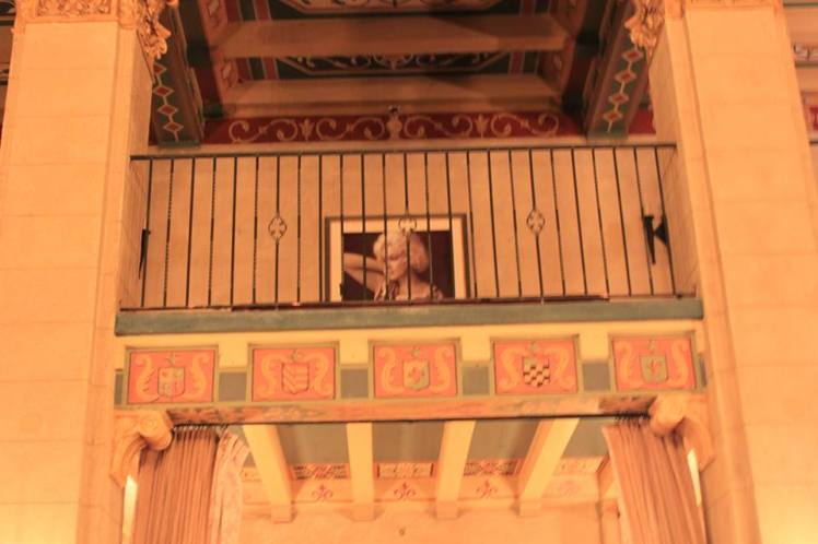Image of Marilyn Monroe as seen from the main lobby.