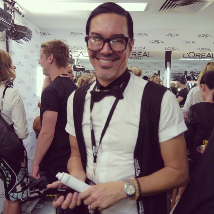 Hair Director, Brad Ngata.