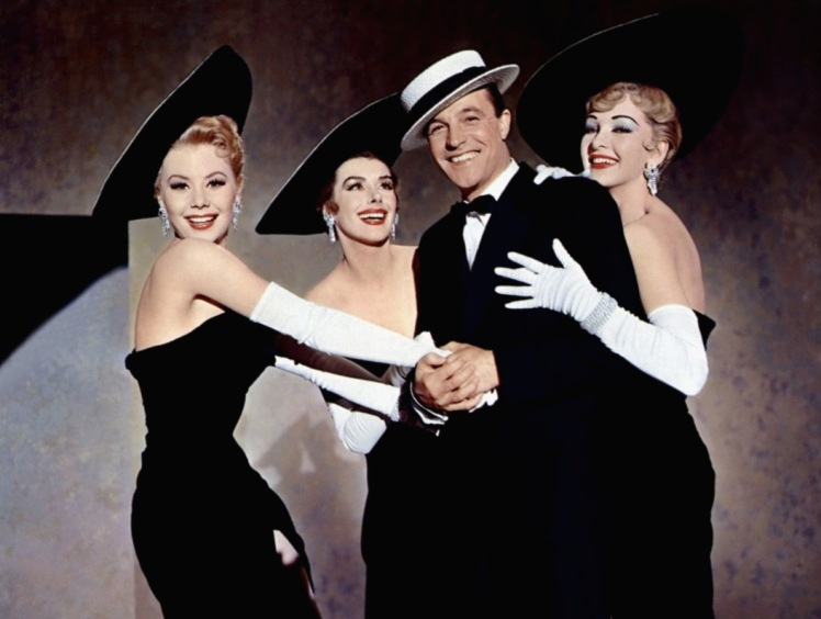1. ACMI_Mitzi Gaynor, Kay Kendall, Gene Kelly and Taina Elg in Les Girls (1957)_300dpi