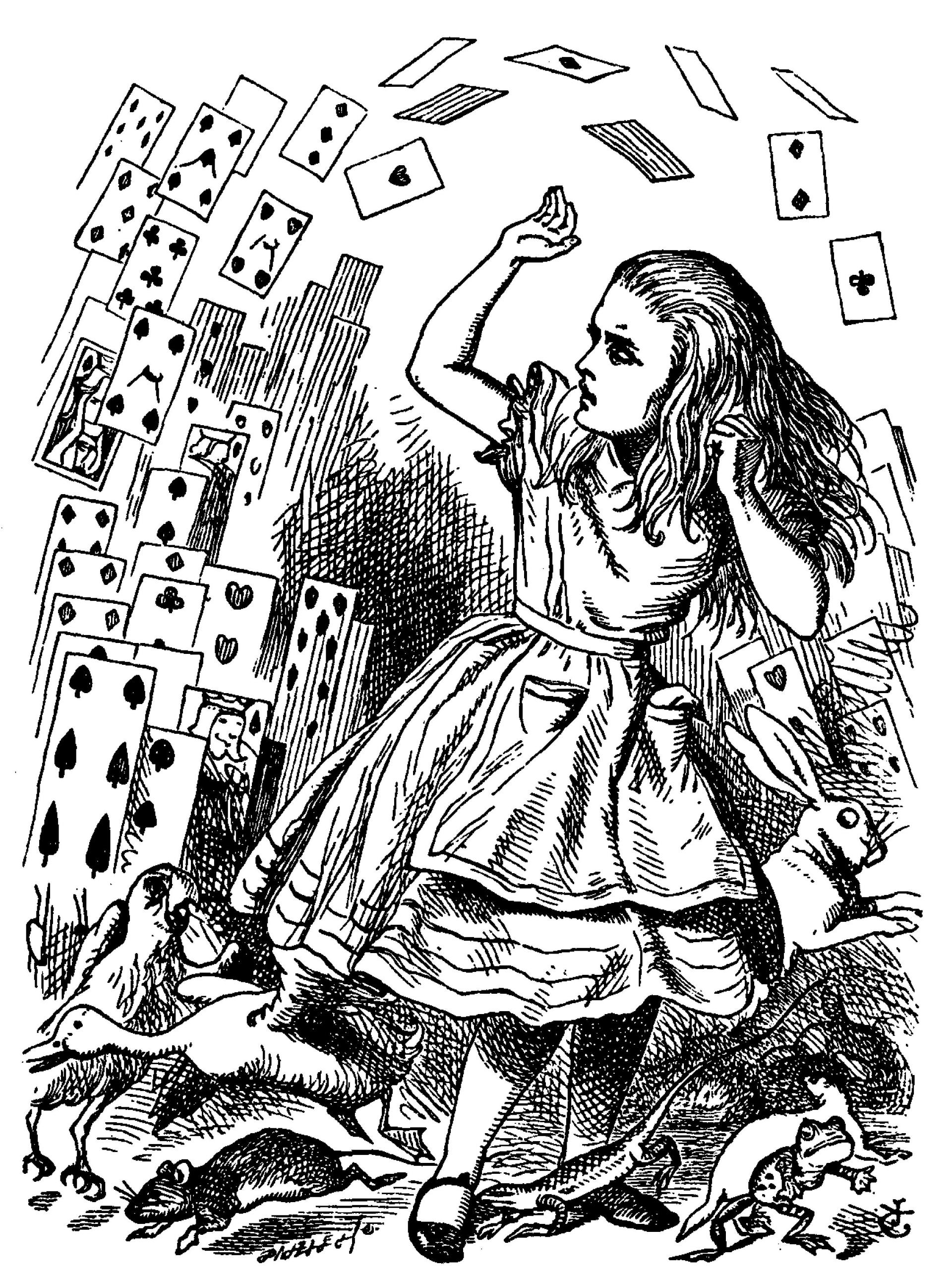 Illustration by John Tenniel_1870-1_Nothing but a pack of cards